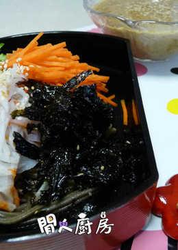 蟹柳青瓜絲蕎麥冷麵