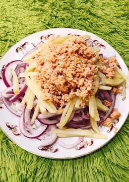洋蔥鮪魚沙拉