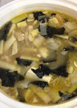 【元本山幸福廚房】竹筍海苔味噌豆腐湯