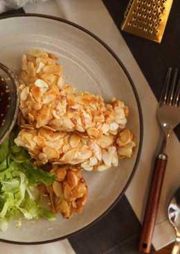 生菜堅果雞肉餅