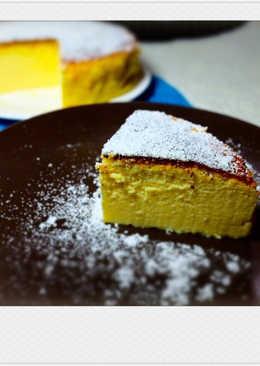 輕乳酪蛋糕 [3種材料,零難度]