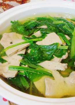 菠菜豬肝湯