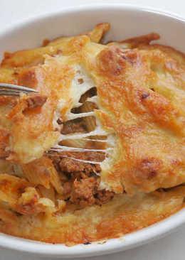 焗烤肉醬義大利筆管麵