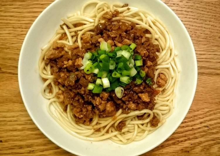 紅蔥肉燥麵
