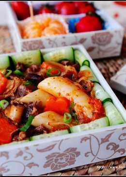 泡菜牛肉炒年糕