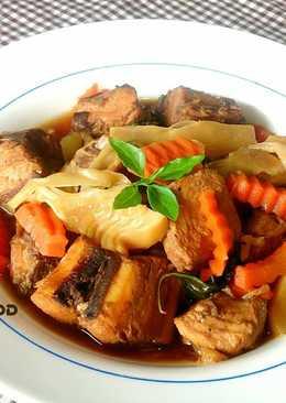 醬燒筍片海底雞