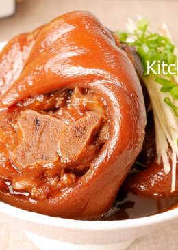 可樂滷豬腳_電鍋料理 零廚藝