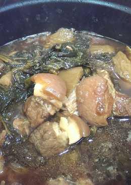 芥菜乾燒肉
