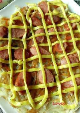 咖哩大薯餅