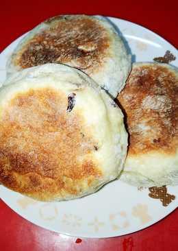平底鍋煎蔓越莓麵包