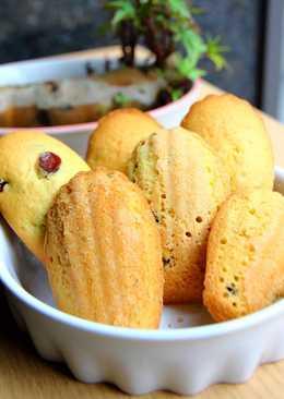 安萱下課後 法式小甜點 瑪德蓮蛋糕