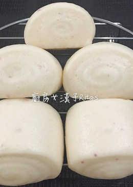 牛奶饅頭(一次發酵)