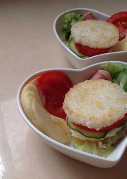 健康輕食米三明治