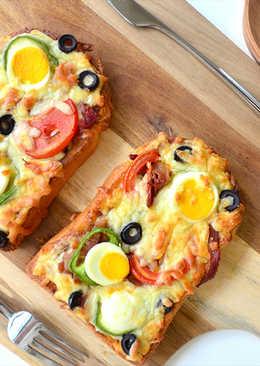 法式土司披薩
