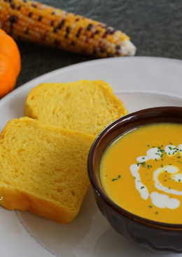 南瓜玉米濃湯