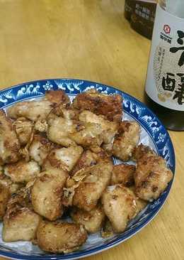 【源釀醬油】用煎炒的~蒜香鹹酥雞