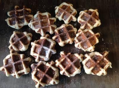 Vitantonio-Honey Belgian Waffle-蜂蜜比利時鬆餅♥!!!