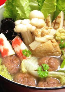 【料亭和露】紅燒獅子頭壽喜鍋