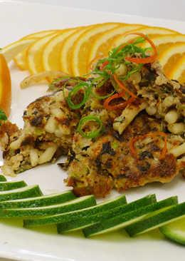 客家米苔目煎肉餅(豆油伯純釀醬油食譜)