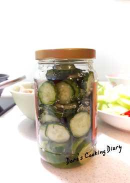 超簡單醃小黃瓜