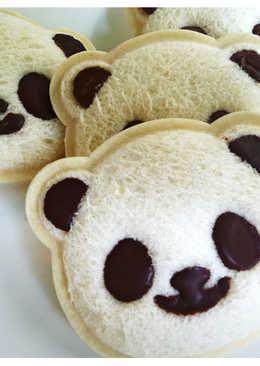 《二廚料理趣味》貓熊吐司模 臉部上色