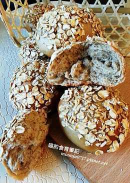 無油低糖(2%)全麥香蕉麵包/110卡~冷藏法
