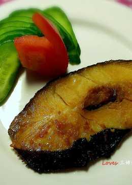 鱈魚味噌燒