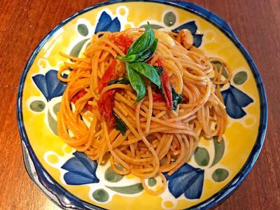 西西里鯷魚番茄義大利麵