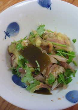 香酸拌烤茄子茗荷(myouga みょうが)