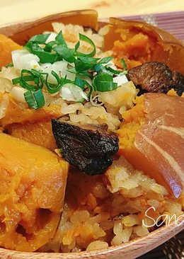南瓜炊飯(電子鍋版)