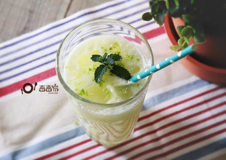 花蓮人氣美食:煉乳檸檬汁(影音食譜)
