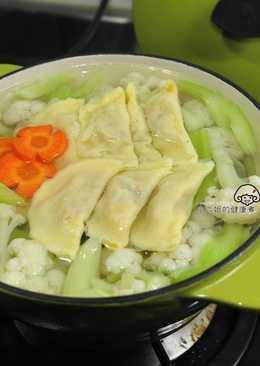西芹白花椰菜湯