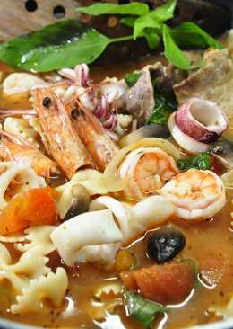 [亨氏番茄醬]番茄海鮮湯