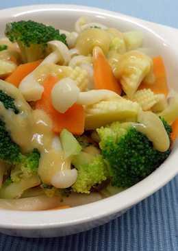 唐風油醋暖沙拉 ♥ 腐乳橄欖油醋醬3