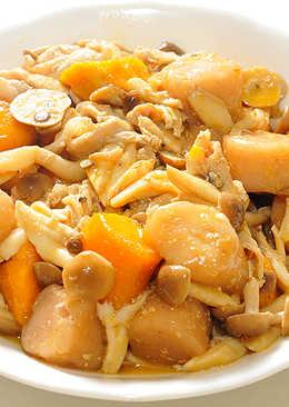 咖哩芋圓鮮菇肉片