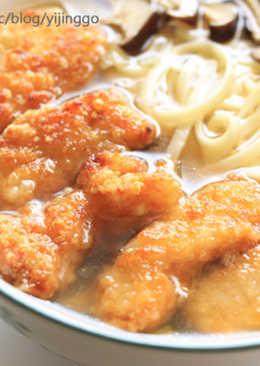 土魠魚羹麵