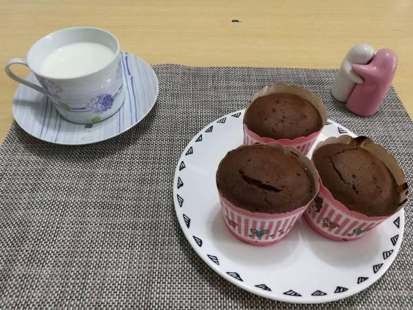 (煮食影片)巧克力馬芬 (巧克力鬆餅) chocolate muffin ~ 超級鬆軟的配方!