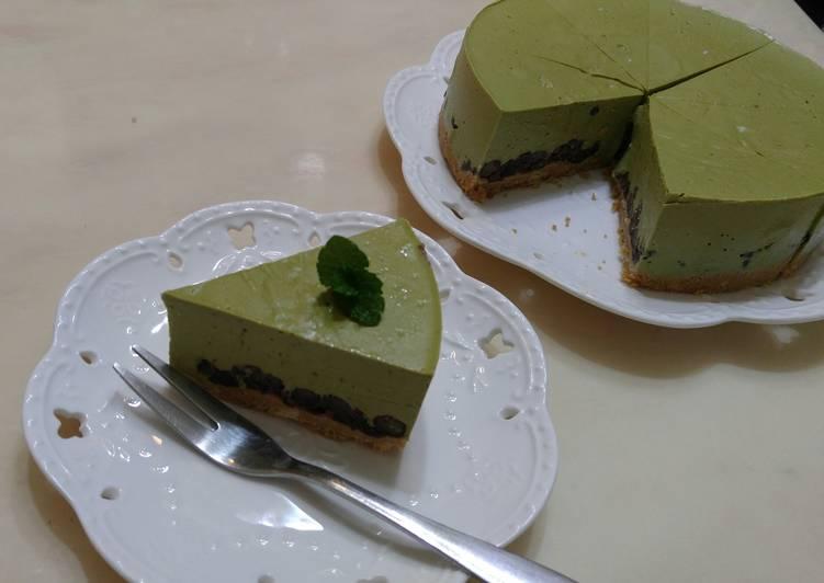 抹茶紅豆生乳酪蛋糕