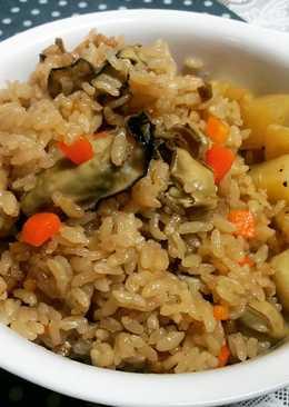 旬のご飯~日式牡蠣炊飯