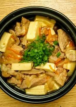 豬肉豆腐煲