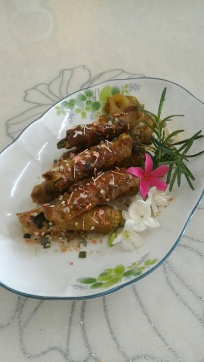 金針菇肉捲