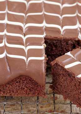 【Baking Weekend】❤ 巧克力盤子蛋糕