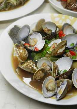 ㄚ曼達的廚房~清蒸蛤蜊鱈魚