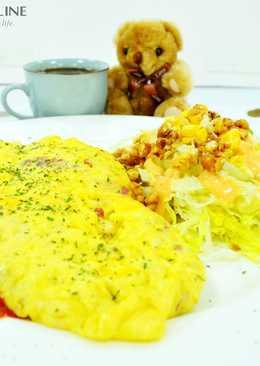 【樂客來】早午餐之~翻滾吧!歐姆蛋