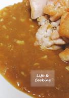 【家常菜】香煎雞腿排佐咖哩醬