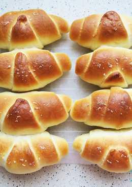 零失敗的日本超人氣鹽奶油麵包卷 (可手揉或使用麵包機料理)