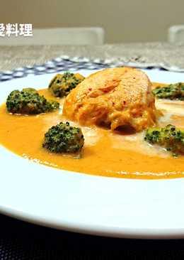 鮮蔬雞肉濃湯(無澱粉、無奶油)