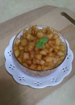 蘋果醬(有顆粒的)
