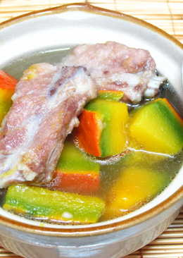 南瓜排骨酥湯