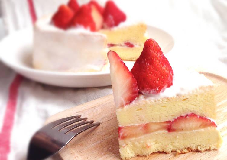 草莓鮮奶油蛋糕 Strawberry cream cake